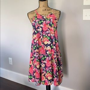 Altar'd State Bright Patterned Dress EUC